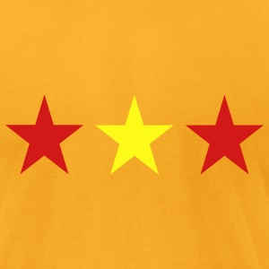 Gold Spain T-Shirts - Men's T-Shirt by American Apparel