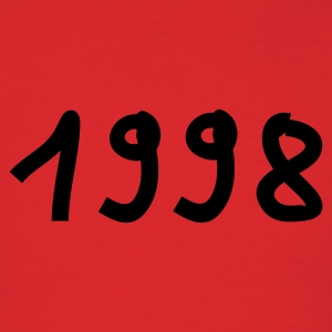 Red 1998 T-Shirts - Men's T-Shirt
