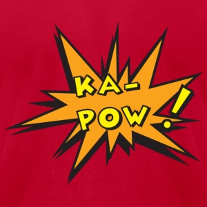 Red kapow T-Shirts - Men's T-Shirt by American Apparel