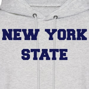 Ash  new york state Hoodies - Men's Hoodie