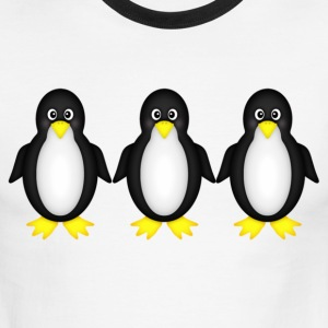 penguins - Men's Ringer T-Shirt