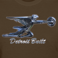 Design ~ Detroit Built Packard Hood Ornament Women's Standard Weight T-Shirt