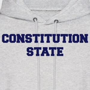 Ash  connecticut constitution state Hoodies - Men's Hoodie
