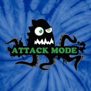 Attack mode [dual sider] - Unisex Tie Dye T-Shirt