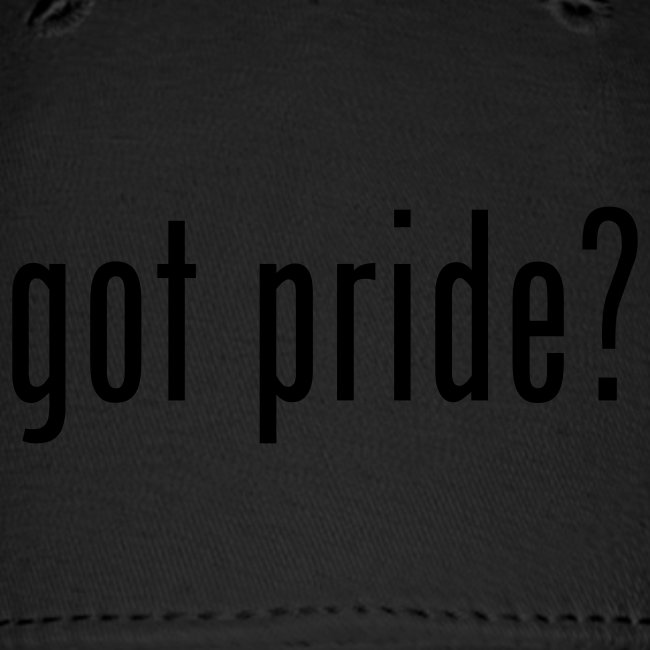 Got pride? Cap