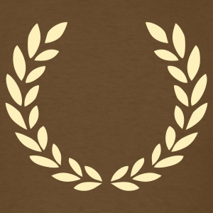 Brown laurel wreath T-Shirts - Men's T-Shirt