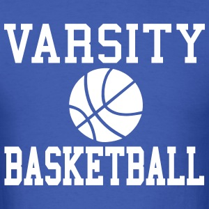 Royal blue varsity basketball T-Shirts - Men's T-Shirt
