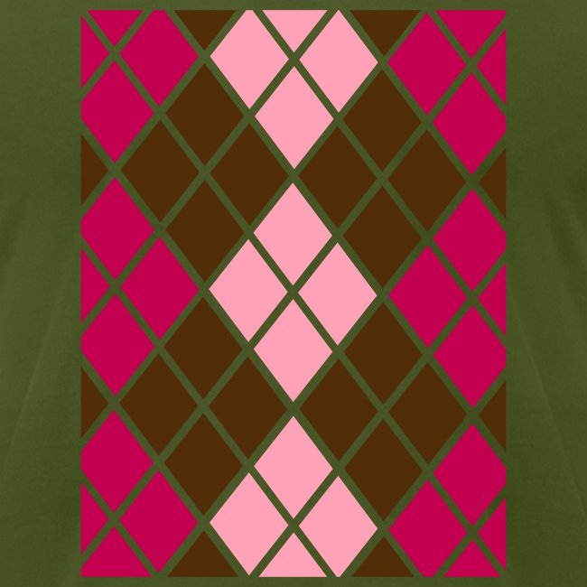 Argyle With Style  T-Shirt for Men