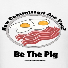 Be the pig! Commitment