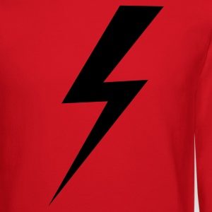 Red STRIKE LIGHTNING Long Sleeve Shirts - Crewneck Sweatshirt