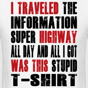 Super Highway Souvenir - Men's T-Shirt