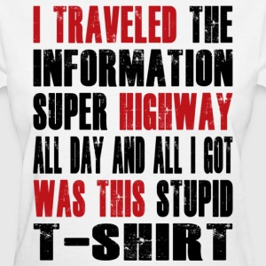 Super Highway Souvenir - Women's T-Shirt