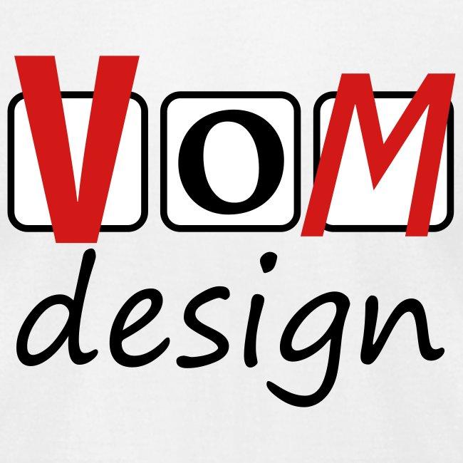 VOM Emblem on Chest  T-Shirt for Men