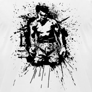 White ALI T-Shirts - Men's T-Shirt by American Apparel