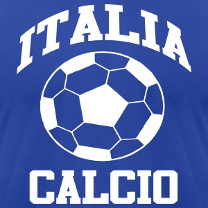Italy Calcio (Soccer / Football) World Cup - Men's T-Shirt by American Apparel