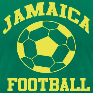 Jamaica Football Soccer World Cup - Men's T-Shirt by American Apparel