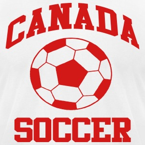 Canada Soccer - Men's T-Shirt by American Apparel