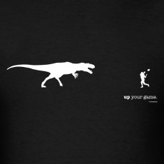T. Rex: Up your game (white)