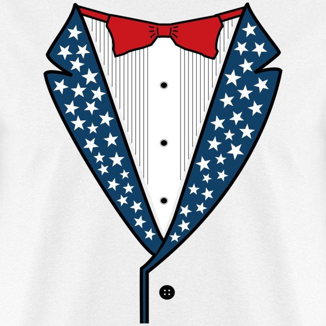 Star Spangled Tuxedo - Mens