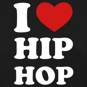 Black I Love Hip Hop Women's T-Shirts - Women's T-Shirt