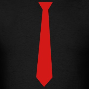 Black tie T-Shirts - Men's T-Shirt