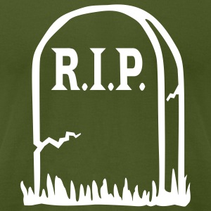 Olive RIP - Death T-Shirts - Men's T-Shirt by American Apparel