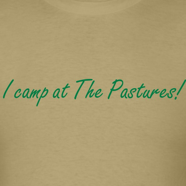 I camp at The Pastures!