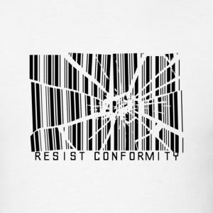 Resist Conformity - Men's T-Shirt