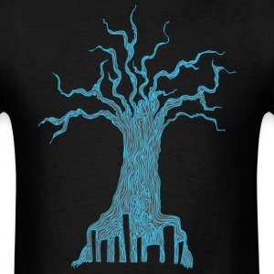 Radioactive Tree - Men's T-Shirt