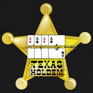 Chocolate texas holdem shooting star (DDP) Long Sleeve Shirts - Women's Long Sleeve Jersey T-Shirt