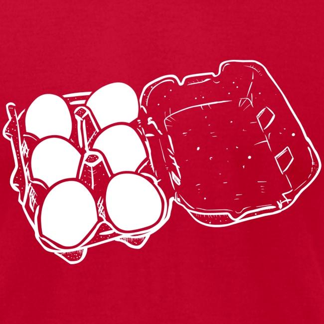 T-Shirt War Egg Carton