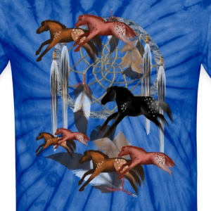 Dream Horses - Unisex Tie Dye T-Shirt