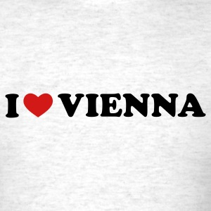 Light oxford I Love Vienna T-Shirts - Men's T-Shirt