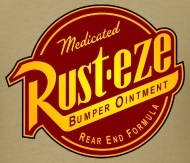 logo t shirt parody rust eze mens t shirt mens t shirt rh shop spreadshirt com rust eze logo font rust eze logo vector