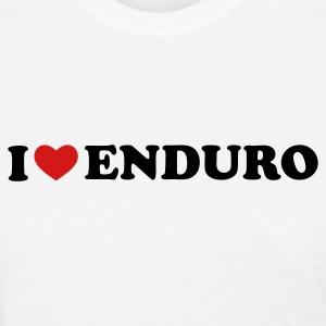 White I Love Enduro Women's T-Shirts - Women's T-Shirt