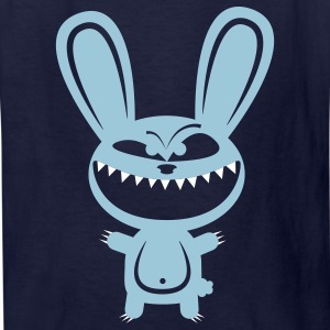 Navy Rabbid Lunatic Monster Kids' Shirts - Kids' T-Shirt