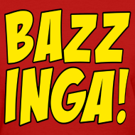 Design ~ BAZZINGA T-Shirt - Exclusive New Design