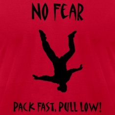 Red No Fear Pack Fast Pull Low T-Shirts