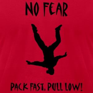 Red No Fear Pack Fast Pull Low T-Shirts - Men's T-Shirt by American Apparel