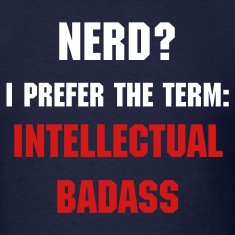 Intellectual Badass (with Logo on back)