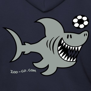 Ash  Shark Attacks Zip Hoodies/Jackets - Men's Zip Hoodie