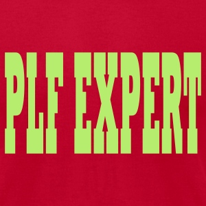 Eggplant PLF Expert T-Shirts - Men's T-Shirt by American Apparel