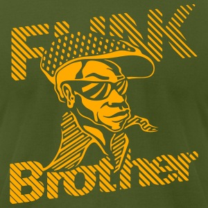 Olive THE ORIGINAL FUNK BROTHER  T-Shirts - Men's T-Shirt by American Apparel