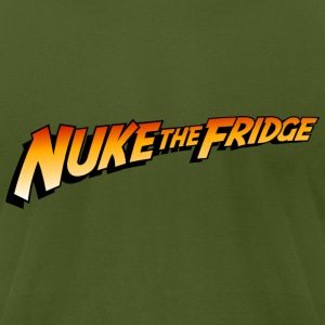 Indiana Jones: Nuke the Fridge T-Shirts - Men's T-Shirt by American Apparel