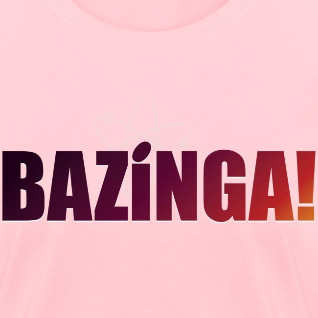 Bazinga! (Girls Tee)