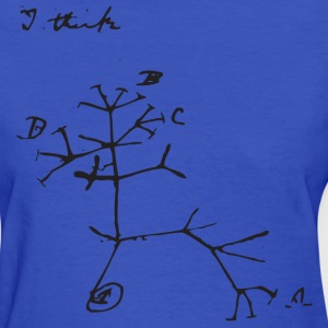 Darwin I Think Tree - Women's T-Shirt
