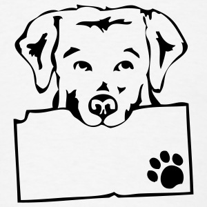 White dogs T-Shirts - Men's T-Shirt