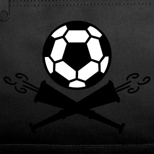 Dark red soccer vuvuzela pirates (2c) Bags  - Duffel Bag