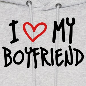 Ash  I Love My Boyfriend Hoodies - Men's Hoodie