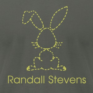 Randall Stevens - Men's T-Shirt by American Apparel